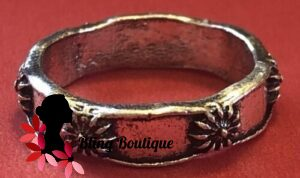 Bohemian Knuckle Ring - Flower Band