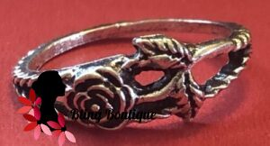 Bohemian Knuckle Ring - Rose