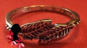 Bohemian Knuckle Ring - Leaves
