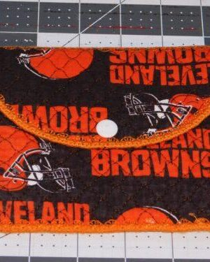 Browns Inspired Quilted Bag