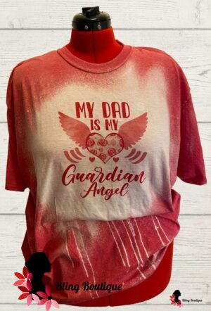 My Dad Is My Guardian Angel - Heather Red