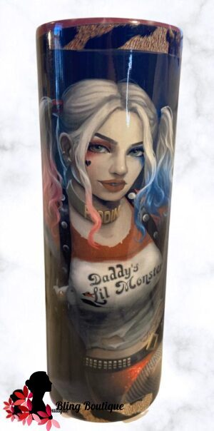 Daddy Lil Monster Themed 20 oz Tumbler