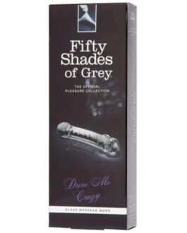 Fifty Shades of Grey Drive Me Crazy Glass Massage Wand