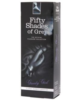 Fifty Shades of Grey Greedy Girl Rechargeable G Spot Rabbit