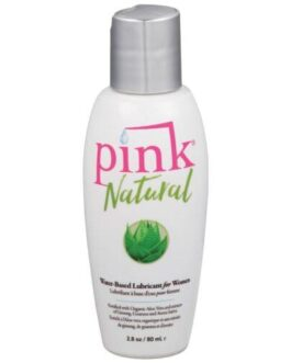 Pink Natural Water Based Lubricant for Women – 2.8 oz