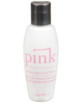 Pink Silicone Lube – 2.8 oz Flip Top Bottle