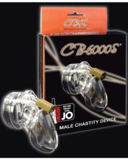 """CB-6000 2 1/2"""" Cock Cage & Lock Set – Clear"""
