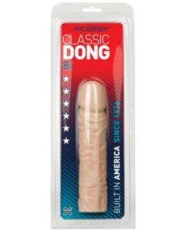 """8"""" Classic Dong – White"""