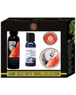 Earthly Body Hemp Seed Tasty Travel Collection – Watermelon