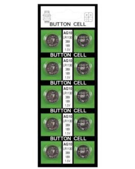 Batteries  AG10 – Card of 10
