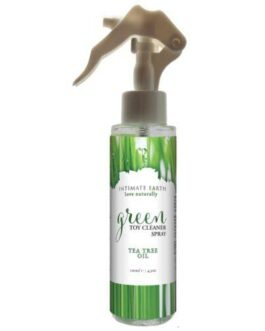 Intimate Earth Green Tea Tree Oil Toy Cleaner Spray – 4.2oz