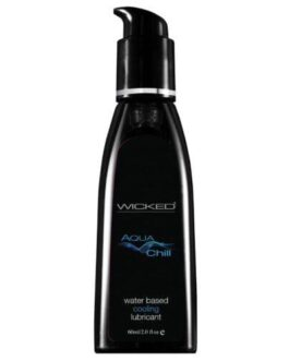 Wicked Sensual Care Chill Cooling Sensation Waterbased Lubricant – 2 oz