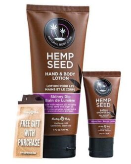 Earthly Body Summer Care Lotion & Shower Gel Combo- Skinny Dip