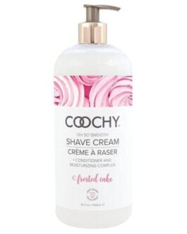 COOCHY Shave Cream – 32 oz Frosted Cake