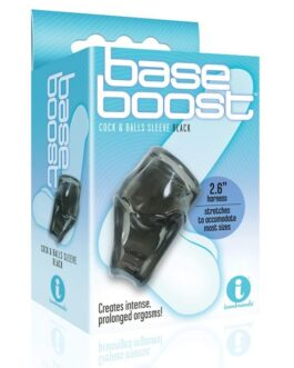 The 9's Base Boost Cock & Balls Sleeve – Black